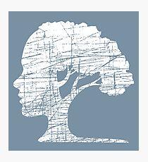 Psychology Tree Unique Symbol Environmental Philosophy Photographic Print