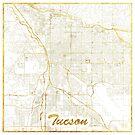 Tucson Karte Gold von HubertRoguski