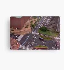 Urban Crosswalk Canvas Print