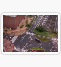 Urban Crosswalk Sticker