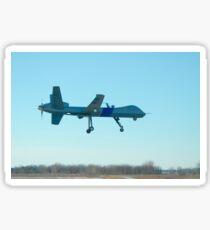A U.S. Customs and Border Protection MQ-9 Reaper UAV. Sticker