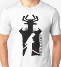 Samurai from Japan poster cartoon ink style Unisex T-Shirt