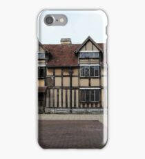 Shakespeare's Birthplace iPhone Case/Skin