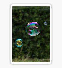 Bubbles in the Park Sticker