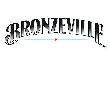 Bronzeville Neighborhood Tee by velocitymedia