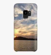 Northern Ontario Canada Scenery Sunset Case/Skin for Samsung Galaxy
