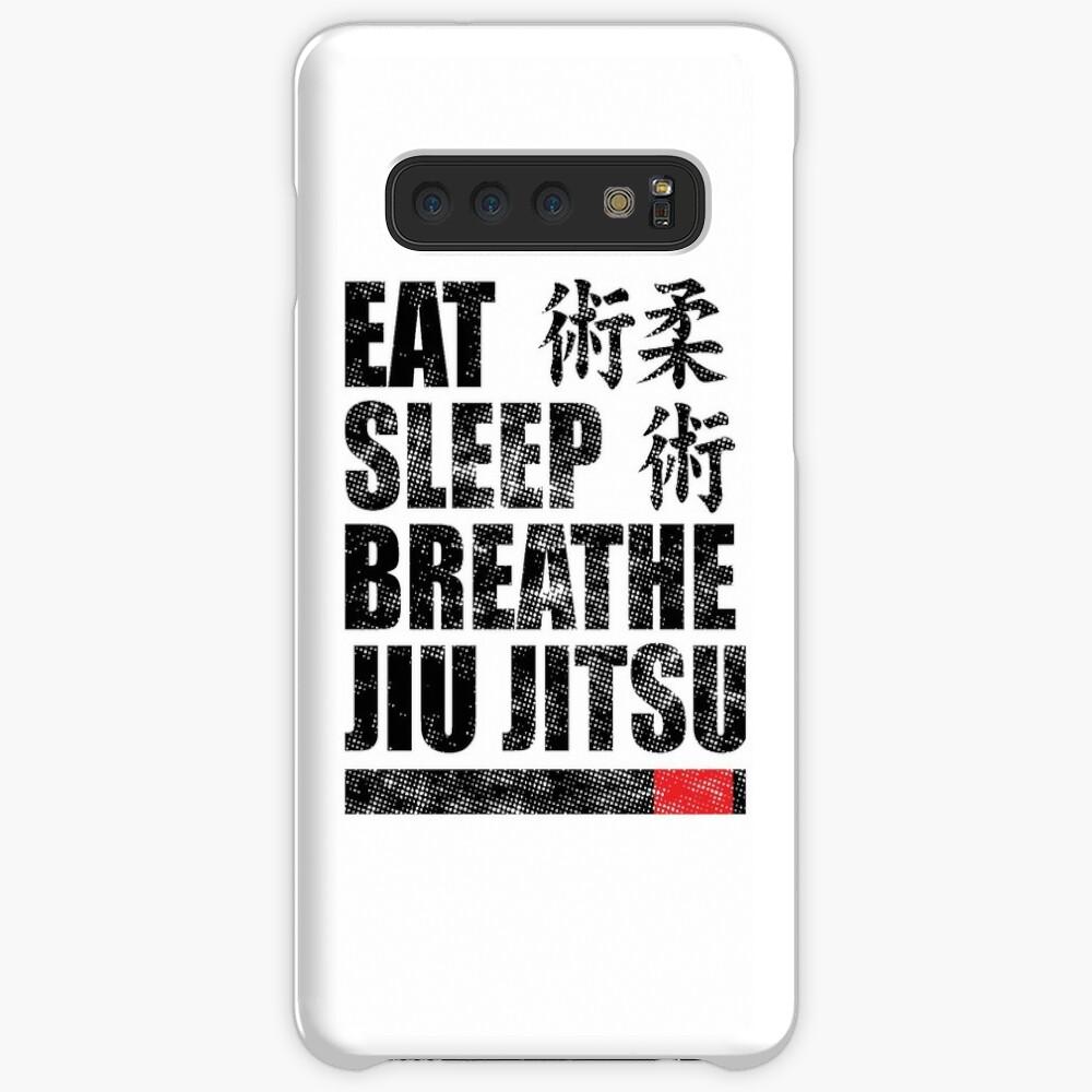 Essen Sie Schlaf Atmen Jiu Jitsu Hülle & Klebefolie für Samsung Galaxy