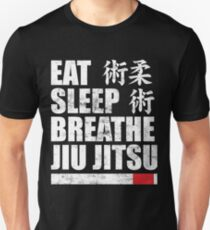 Eat Sleep Breathe Jiu Jitsu T-Shirt