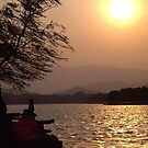 Summer Palace Sunset 3 by kerry625