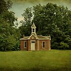 Perry Township School No. 3 by Sandy Keeton