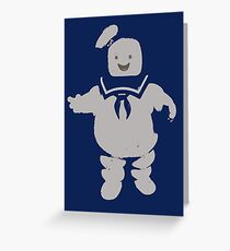 Mr. Stay Puft Marshmallow Man Greeting Card