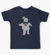 Mr. Stay Puft Marshmallow Man Kids Tee