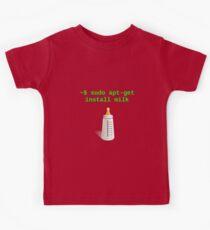 Linux Baby sudo apt-get install milk Kids Clothes