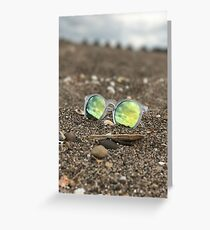 Reflected Beach Greeting Card