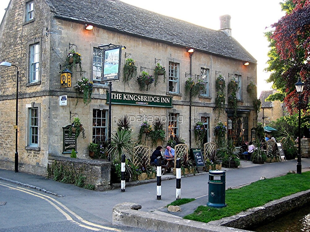 The Kingsbridge Inn, Burton-on-the-Water, Cotswolds by patapping