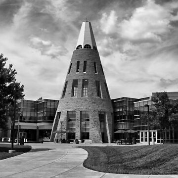 University Center B/W by SandyK