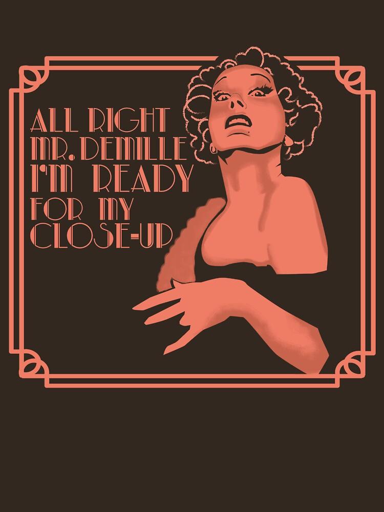 Gloria Swanson (Sunset Boulevard) de moseisly