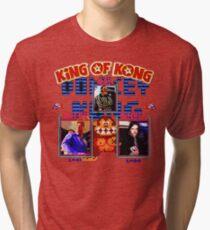 king of kong Tri-blend T-Shirt