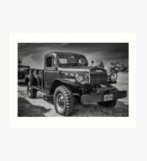 1947 Dodge Power Wagon Art Print