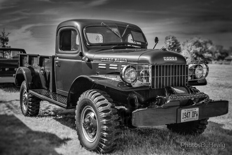 1947 Dodge Power Wagon by Photos by Healy
