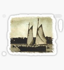 In The Harbour Tee Sticker
