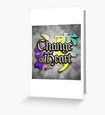 Change of Heart BFA  Greeting Card