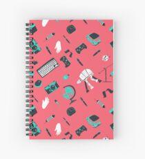 Top of my desk - Behind 90 Spiral Notebook