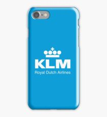 KLM (Royal Dutch Airline) - Journeys of Inspiration iPhone Case/Skin