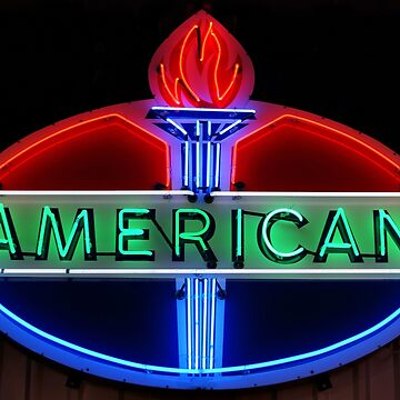 American Oil Sign by SandyK