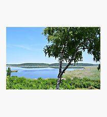 Beautiful nature reserve landscape Photographic Print