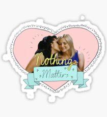 calzona - nothing matters  Sticker