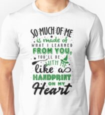 Wicked Musical. Handpring On My Heart T-Shirt