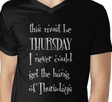 Thursday Mens V-Neck T-Shirt