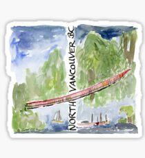 Capilano Suspension Bridge, North Vancouver Sticker