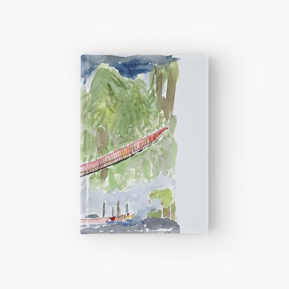 Capilano Suspension Bridge, North Vancouver Hardcover Journal