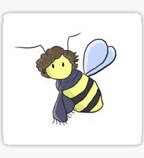 bee-sherlock sticker Sticker