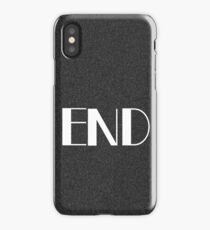 TV End Screen iPhone Case/Skin