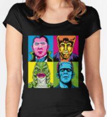 Pop Monster Women's Fitted Scoop T-Shirt