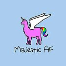 «Majestic AF Pink Llamacorn» de jezkemp