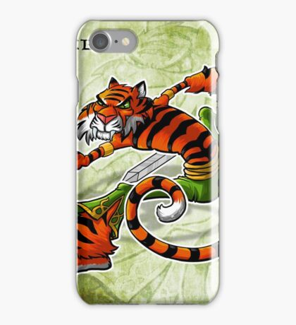Tai Chi Tiger iPhone Case/Skin