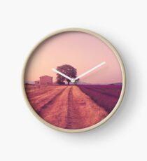 Provence Morning Light  Clock