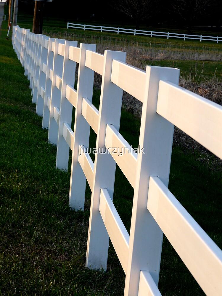 White Fences by jwawrzyniak