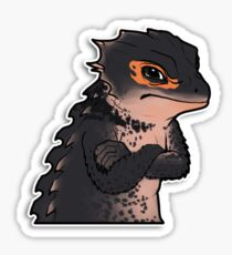 Angry Skink Sticker