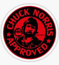 Chuck Approved - Beards Out Sticker