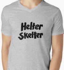 Helter skelter Charles Manson Cincinnati Men's V-Neck T-Shirt