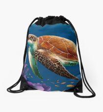 Seaturtle Drawstring Bag