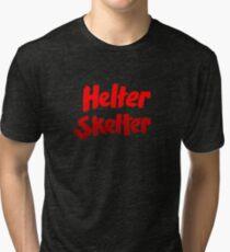 Helter skelter Charles MansonT-Shirt Tri-blend T-Shirt