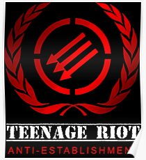 Antifascist  Poster