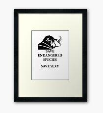 Hilarious Pic Framed Print