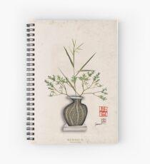 Tony Fernandes 'today and tomorrow', ikebana 9 Spiral Notebook